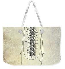 1896 Shoe Patent  Weekender Tote Bag