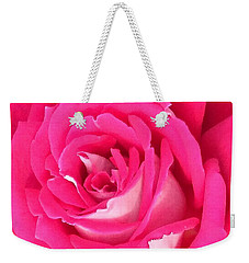 Bara Means Rose Weekender Tote Bag