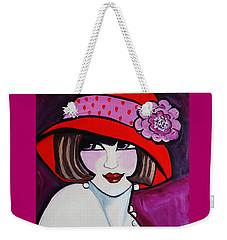 1920's Girl Ella Weekender Tote Bag by Nora Shepley