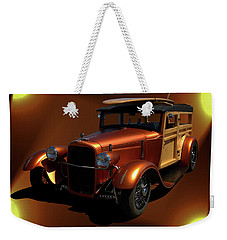 1929 Ford Model A Woody Weekender Tote Bag