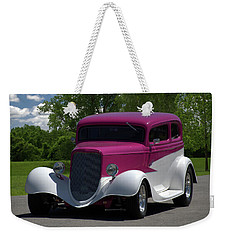 1933 Ford Vicky Weekender Tote Bag by Tim McCullough