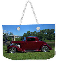 Weekender Tote Bag featuring the photograph 1934 Ford Coupe by Tim McCullough