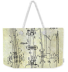 1935 Helicopter Patent  Weekender Tote Bag