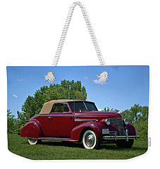 1939 Chevrolet Convertible Weekender Tote Bag