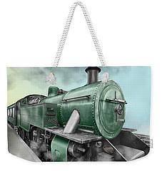 1940's Steam Train Weekender Tote Bag