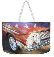 1961 Chevrolet Impala Ss  Weekender Tote Bag by Rich Franco