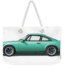 1976 Porsche Euro Carrera 2.7 Illustration Weekender Tote Bag