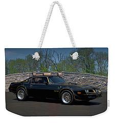 1978 Pontiac Trans Am Weekender Tote Bag