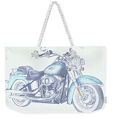 2015 Softail Weekender Tote Bag by Terry Frederick