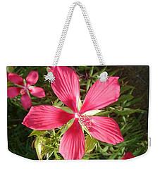 Hibiscus Coccineus Weekender Tote Bag