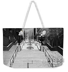 215th Street Stairs Weekender Tote Bag