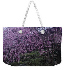 Shidarezakura Mean A Drooping Cherry Tree  Weekender Tote Bag