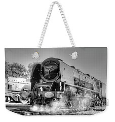 46233 Duchess Of Sutherland At Swanwick Weekender Tote Bag