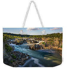 A Day In The Life Of A River Weekender Tote Bag