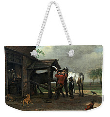 A Farrier's Shop Weekender Tote Bag