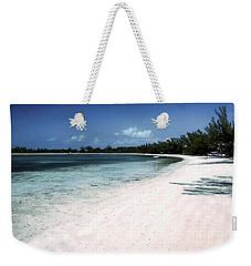 A Horseshoe Beach In The Bahamas Weekender Tote Bag