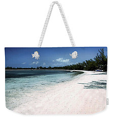 A Horseshoe Beach In The Bahamas Weekender Tote Bag