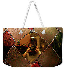 Weekender Tote Bag featuring the photograph A Photographer's Christmas Greeting by Trish Mistric