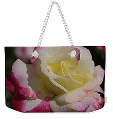 A Rose Weekender Tote Bag by Cathy Donohoue