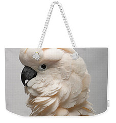 A Salmon-crested Cockatoo Weekender Tote Bag