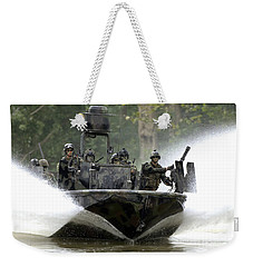 A Special Operations Craft Riverine Weekender Tote Bag