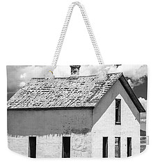 Weekender Tote Bag featuring the photograph Abandoned by Colleen Coccia