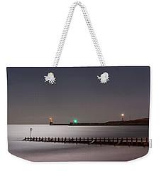 Aberdeen Beach At Night Weekender Tote Bag