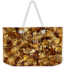 Abstract 6 Weekender Tote Bag by Patricia Lintner