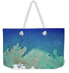 Abstract Aerial Reef Weekender Tote Bag