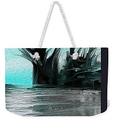 Weekender Tote Bag featuring the digital art Art Abstract by Sheila Mcdonald