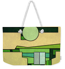 Abstract Cubist Weekender Tote Bag