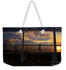 Abstract Silhouettes Weekender Tote Bag