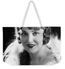 Actress Agnes Ayres Weekender Tote Bag by Underwood Archives