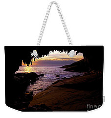 Admiral's  Arch Sunset Weekender Tote Bag by Mike Dawson