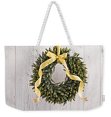 Weekender Tote Bag featuring the photograph Advents Wreath by Ulrich Schade