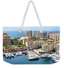 Aerial View Of Monaco Weekender Tote Bag