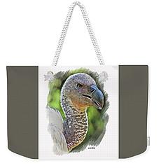African Griffon Vulture Weekender Tote Bag
