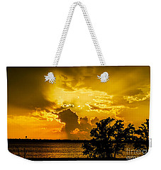 Weekender Tote Bag featuring the photograph After The Storm by Betty LaRue