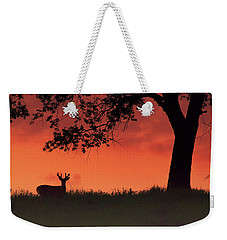 Weekender Tote Bag featuring the photograph After The Sunset by Rima Biswas