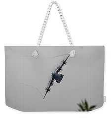 Weekender Tote Bag featuring the photograph Airbus A400m by Shirley Mitchell