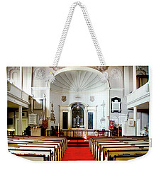 Weekender Tote Bag featuring the photograph Aisle Of God by Greg Fortier