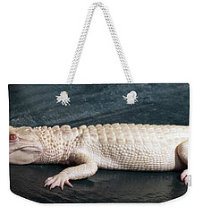 Albino Alligator Weekender Tote Bag