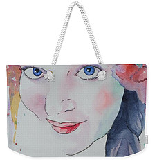 Alisha Weekender Tote Bag by Mary Haley-Rocks