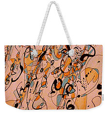 All That Jazz Weekender Tote Bag by Nancy Kane Chapman