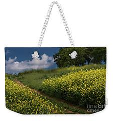 Almaden Meadows' Mustard Blossoms Weekender Tote Bag