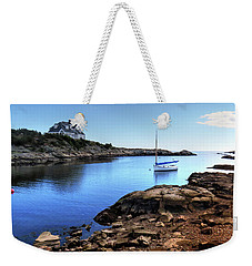Weekender Tote Bag featuring the photograph Almost Paradise Newport Ri by Tom Prendergast