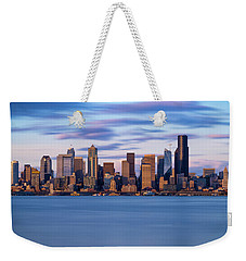 Almost Sunset In Seattle  Weekender Tote Bag