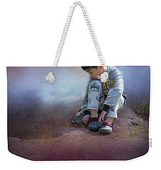 Alone Weekender Tote Bag by Eva Lechner