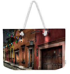 1 A.m. Street Photo Weekender Tote Bag