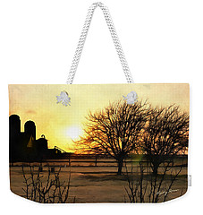 Amarillo Sunset Weekender Tote Bag by Ricky Dean